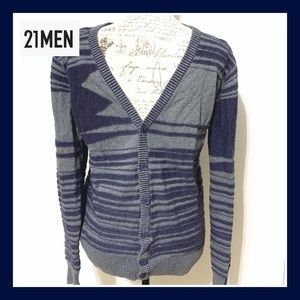 21 Men Knit Cardigan